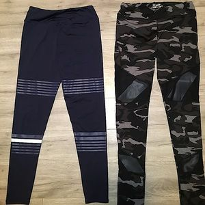 2 Pairs of workout leggings